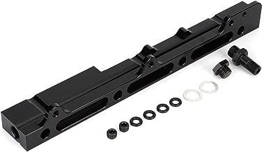 Aramox Car Fuel Rail, High Volume Flow Fuel Rail Kit Fit For Acura/Honda Integra Civic B16 B18 B20