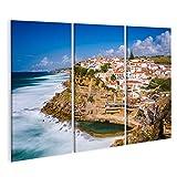 bilderfelix® Bild auf Leinwand Azenhas do Mar Portugal