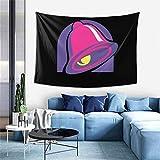 N\A Hippie Hippy Tapiz de Pared Púrpura Taco Bell Tapiz Negro Ombre Tapiz Colgante de Pared para Arte de Pared Accesorios de Dormitorio Mandala Manta Picnic Manta Tapiz de Dormitorio