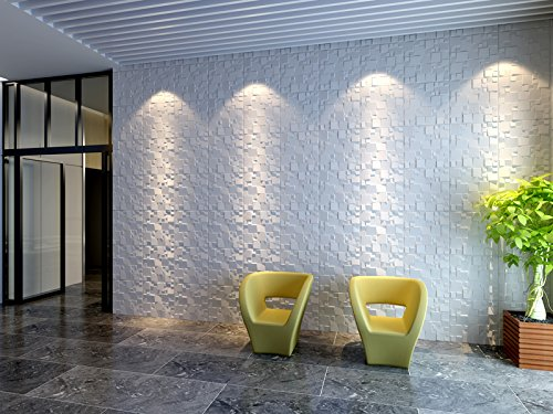 Contempo Living 3D-ICE Ice 3D Wall Panel, 27 sq. ft.