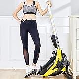 Rudergerät für zu Hause Rudergerät Mute Bauchbrust Arm Fitnesstraining Körper Glider Rudern Home Gym Fitnessausrüstung Allround-Fitnessgerät (Farbe : Schwarz, Größe : Einheitsgröße) - 6
