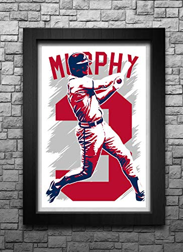 Dale Murphy Poster | Dale Murphy Artwork | Baseball Stars Print