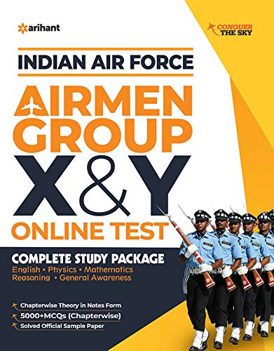 Indian Air Force X & Y Group Technical & Non-Technical 2020
