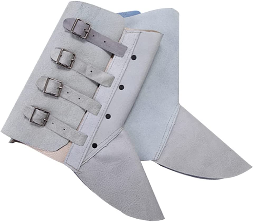 Generic Bargain sale 1 Pair Welding Shoes 2021 Protector Spats Cover Cowhide