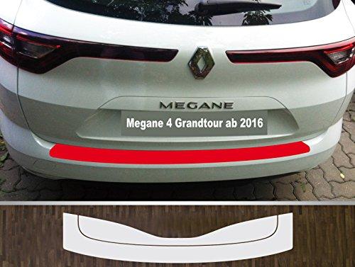 is-tuning passgenau für Renault Megane 4 Grandtour ab 2016 Lackschutzfolie Ladekantenschutz transparent