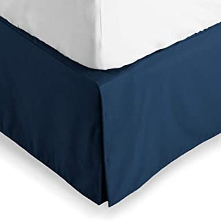 coral king size bed skirt