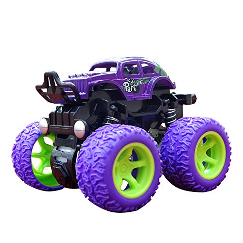 Matedepreso Kid's Monster Trucks Toys Mini Push and Go Car Truck Jam Playset Inertia Car Toys Friction Powered Cars Friction Powered Cars