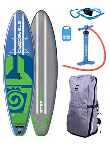 SUPwave® Starboard Widepoint 10'5 ZEN SUP 2018 Board inkl Dry-Bag aufblasbar iSUP...