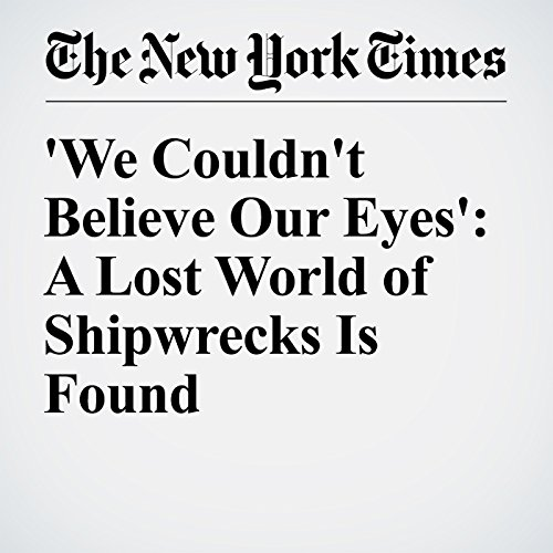 'We Couldn't Believe Our Eyes': A Lost World of Shipwrecks Is Found cover art