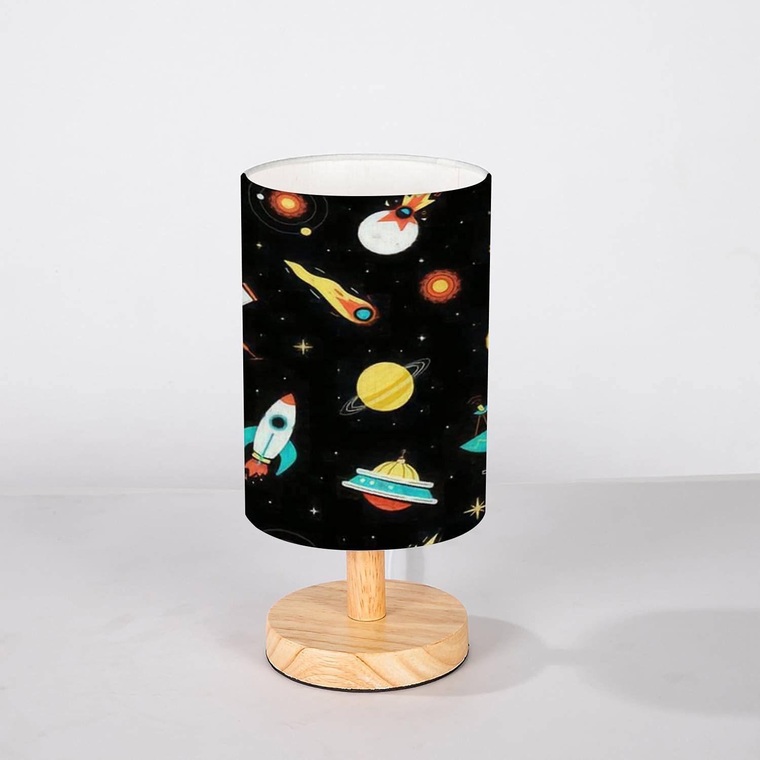 Minimalist Bedside Detroit Mall Table Lamp Outer Design Flat Elegant Colorful Space S