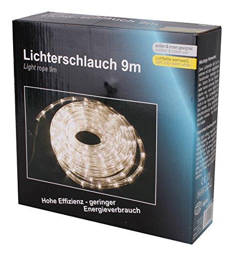 LEX | 9m LED Lichterschlauch | Beleuchtung für Innen- und Außenbereich | IP44