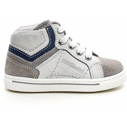 Nero Giardini Junior , {Chaussures Premiers Pas pour bébé (garçon) Gris Gris 20 - Gris - Velour Cenere, 21 EU