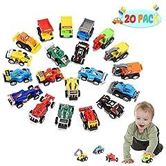 Idea Regalo - Hotifts Macchinine Giocattoli Bambino 1 2 3 4 5 6 Anni, Macchina per Bambini Giochi Bambino 1-6 Anni Cars Macchinine Regalo Bambina 1-6 Anni Mini Cars Regalo Bambino 1-6 Anni