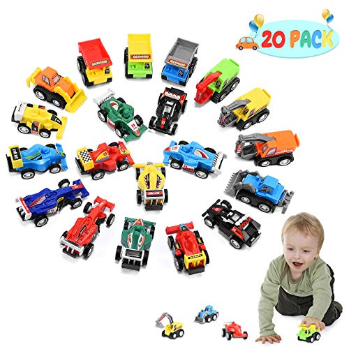 Tisy TOY Gifts for 3-6 Year Old Boys Kids, Car Toys for 2-6 Year Old Boys...
