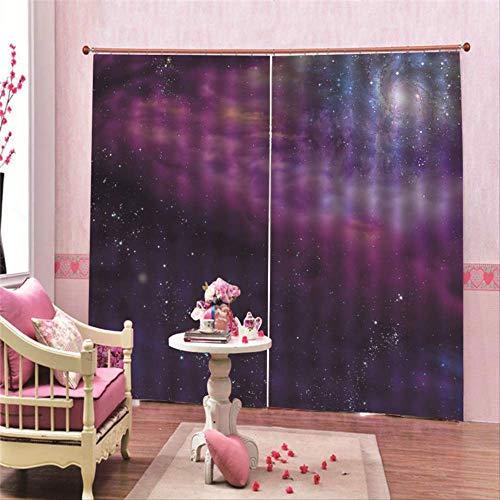 cortinas salon lilas