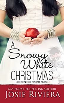 A Snowy White Christmas: An Uplifting Sweet Holiday Romance Novella by [Josie Riviera]