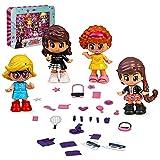 Pinypon- Pack Mini muñecas, Multicolor (Famosa BAR28000)