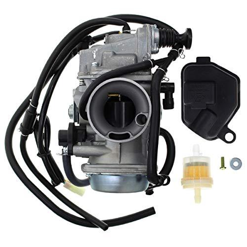 Carbhub 16100-HN5-M41 Carburetor for Honda ATC250ES ATC250SX ATC 250 Big Red 1985 1986 1987 Carburetor Replaces 16100-HN5-M41, 16100-HA0-305, 16100-HM3-L01, 16100-HM5-L01, 16100-HN0-A02