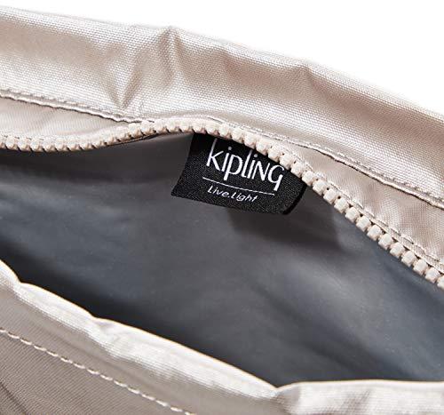 Kipling Austinia Women's Purse, Silver (Metallic Glow), 33x26x12 Centimeters (B x H x T)