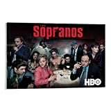 OIIP Sopranos Season 4 Poster dekorative Malerei Leinwand
