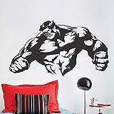 ZNuQP Abnehmbare Kunst Wandbild American Football Spieler Helm Junge Schlafzimmer Dekoration Raumdekoration Wohnzimmer Schlafzimmer 72x 77cm