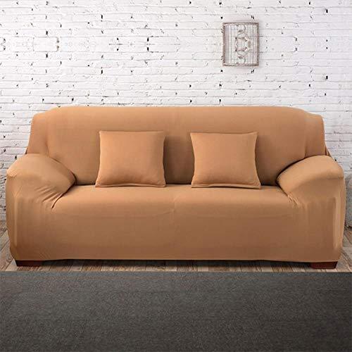 YYBF Funda de sofá para Sala de Estar Elasticidad Sofá Antideslizante Funda de Funda Universal de Spandex para Funda elástica de sofá 1/2/3/4 plazas, N, 4 plazas 235-300cm