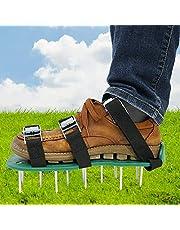 Garden Lawn Abelator schoenen, Lawn Aerator Spike schoenen beluchter sandalen met 26 spikes en verstelbare riemen voor tuin bodem gras beluchting (2 riemen) (Color : 2 Straps)