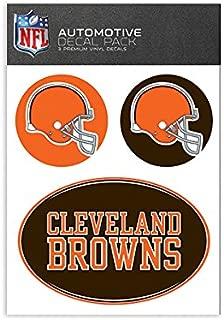 NFL Cleveland Browns Medium Decal Pack