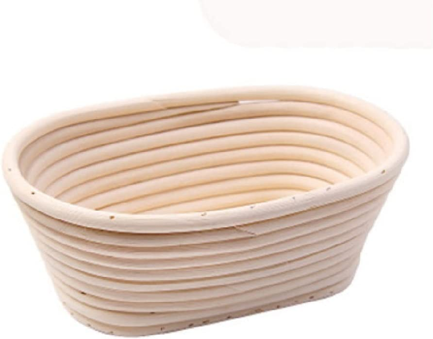 WSZJJ Fermented Wicker Basket Max 77% shopping OFF Stora Large-Capacity Country Bread