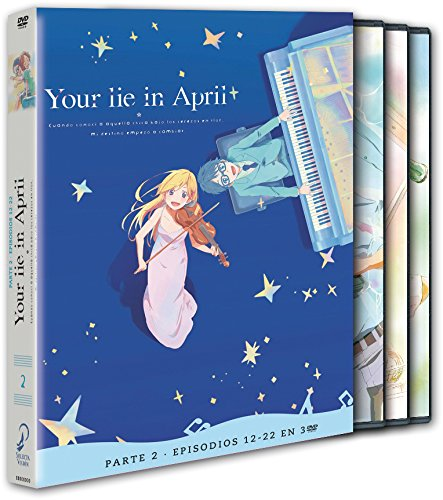 Your Lie In April P2. Ep 12-22 [DVD]
