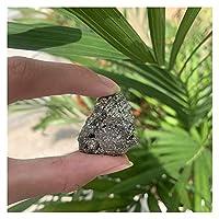 天然水晶石 10ピース天然銅黄鉄鉱鉱物標本黄銅線クリスタルロック石オリジナル標本天然石と鉱物 クリスタルラフ (Size : 7pcs)