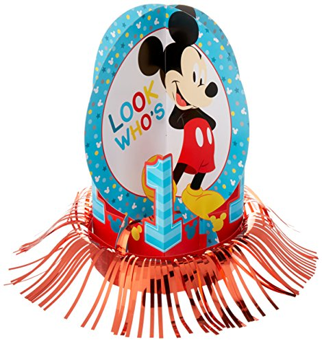 amscan 281833 Disney Mickey's Fun to be One Table Decorating Kit, 1 Pack (23 pcs), Birthday
