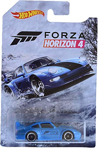 Hot Wheels Forza Horizon 4 Porsche 911 GT2 [993] 6/6, Azul
