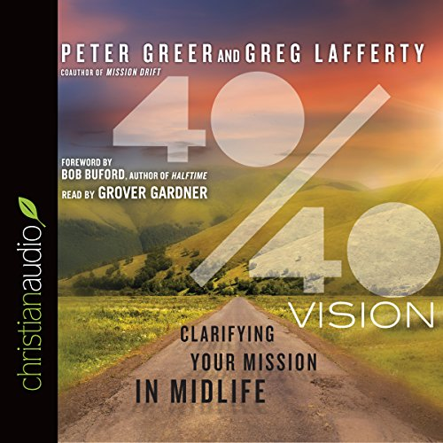 40/40 Vision audiobook cover art