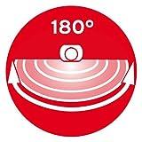 Brennenstuhl Solar LED-Leuchte Premium SOL LH0805 P2 IP44 mit Infrarot-Bewegungsmelder 8xLED Anthrazit, - 4
