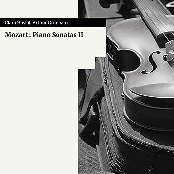 Mozart : Piano Sonatas II