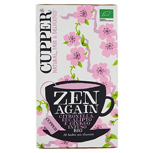 Cupper Infusion Feel Zen Bio, 20 Bolsas 1 Unidad 200 g