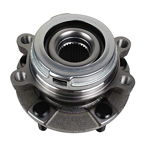 Autoround 513296 Front Wheel Hub and Bearing Assembly Fit for Nissan Altima 2007-18, Maxima 2009-19, Pathfinder 2013-19, Murano 2009-18, Quest 2011-17, Infiniti QX60 2014-19, JX35 2013 5-Lug