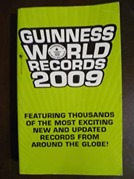 Paperback Guiness Book of World Records 2009 Book