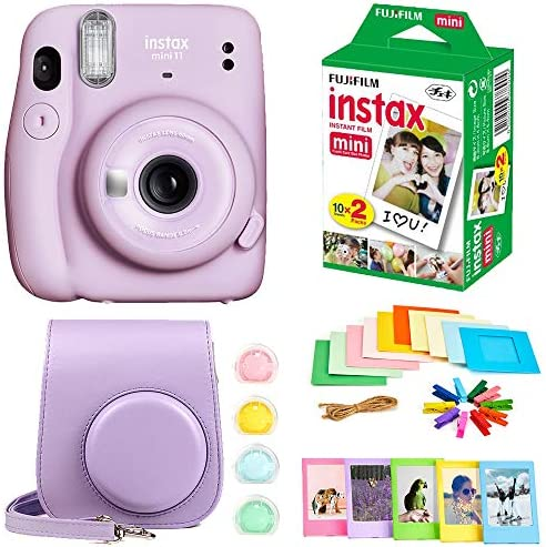 Fujifilm Instax Mini 11 Instant Camera Instax Mini Twin Pack Film Hanging Frames Plastic Frames product image