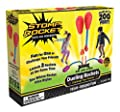 The Original Stomp Rocket Dueling Rockets, 4 Rockets and Rocket Launcher - Outdoor Rocket Toy Gift for Boys and Girls Ages 6 Years and Up - Great for Outdoor Play with friends in the backyard & parks by D+L Company
