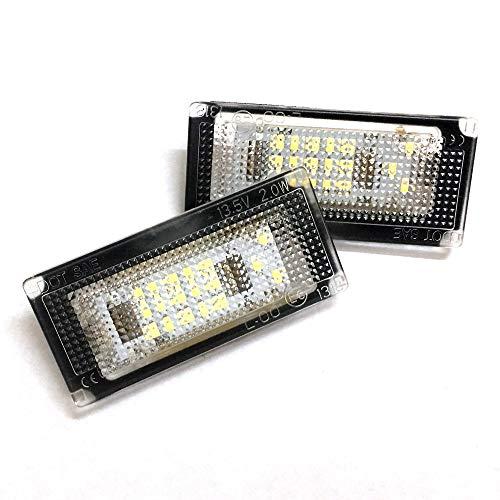 GZLMMY – Juego de 2 bombillas de repuesto para matrícula de coche Canbus para BMW Mini Cooper S, R50,…