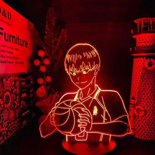 Haikyuu kageyama tobio 3D LED ANIME LAMP Nachtlichter Farbwechsel Lampara für Weihnachtsgeschenk