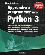 Apprendre à programmer avec Python 3 de Gérard Swinnen