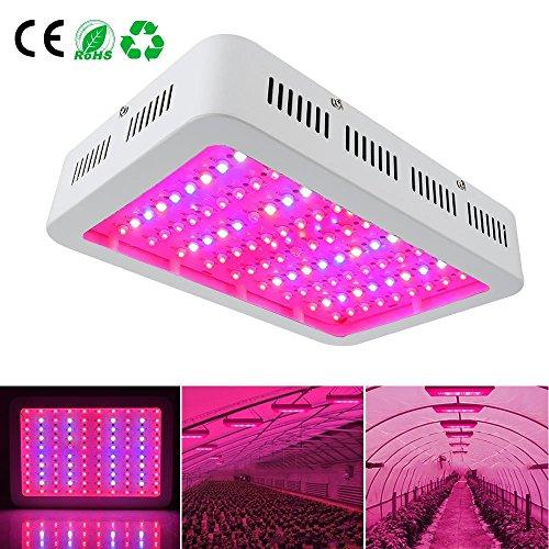 Derlight Luce LED per coltivazione piante, ad ampio spettro, alta potenza