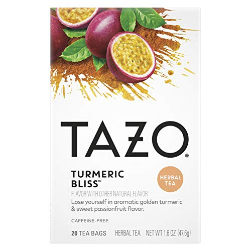 Tazo Tea Bags Turmeric Bliss 20 ct, Pack of 6
