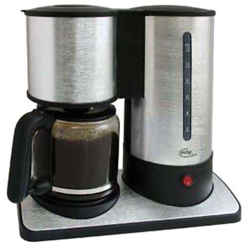 Elta KM400ALU Design Kaffeemaschine Alu