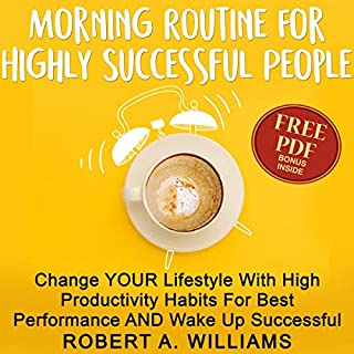 Morning Routine for Highly Successful People audiobook cover art