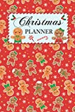 Christmas Planner: Gingerbread - All-in-One Holiday Organizer Book - Includes: Christmas Gift List,...