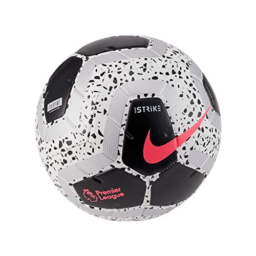 Nike Premier League Strike Ball (White/Black/Pink, 5)